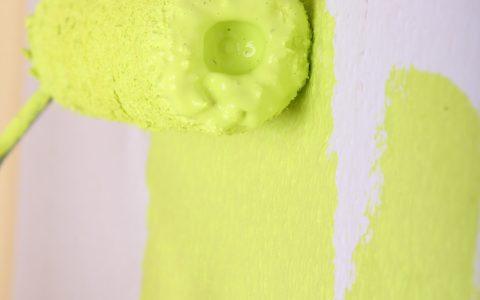 Anstrich Wände gelb